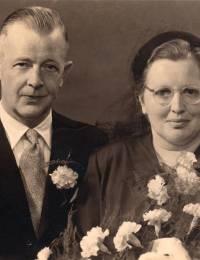 Johannes Zinnemers & Alwine Busman (1956/1957)