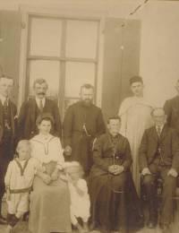 Familie van Duin-Post (+/- 1920)